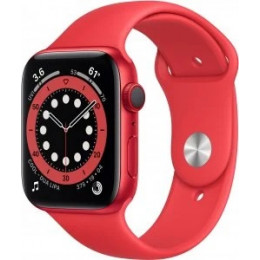 Apple Watch Series 6 (GPS) (PRODUCT)RED Aluminum Case with Sport Band