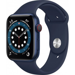 Apple Watch Series 6 (GPS) Blue Aluminum Case with Sport Band